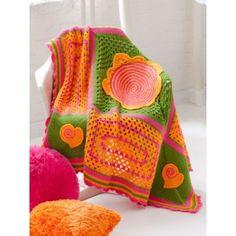 Free Intermediate Afghan Crochet Pattern
