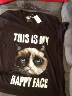 Grumpy Cat Shirt #GraphicTee