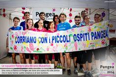 Le squadre Pangea alla Milano Marathon / Una corsa al fianco di Pangea per dare una nuova vita alle donne che in Italia hanno subito violenza e ai loro bambini.