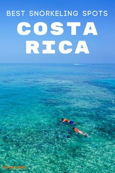 The ultimate guide to the best snorkeling destinations in Costa Rica. One of the best things to do in Costa Rica is to take advantage of its beaches and warm oceans. Book through your resortcen or go on your own just off the beach! Practical tips for your trip to Central America. | Travel Dudes Travel Community#CostaRica