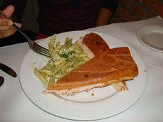Camilo's Bistro- Turkey Sandwich + pasta