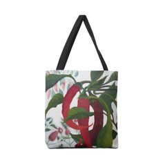 "Garden Goods ""Picked a Pepper"" Accessories Bag by Ruby Charm Colors Artist Shop"