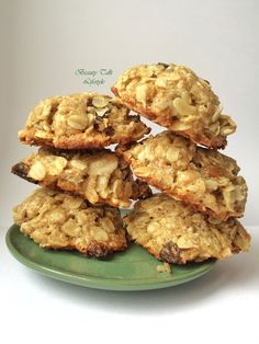 Beauty Talk and Lifestyle: Classic Oatmeal Cookies. Plus Protein Version. Кла...