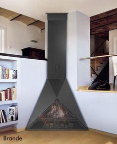 Metal Fire Pit, Bookcase, Shelves, Ideas, Home Decor, Fire Places, House Decorations, Shelving, Decoration Home