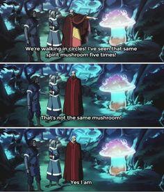 The Legend of Korra: spirit mushroom