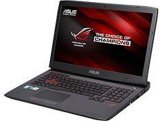"""ASUS ROG G751 Series G751JT-CH71 Gaming Laptop 17.3"""" Windows 8.1 64-Bit"""