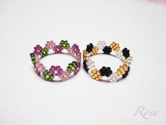 Image result for peyote stitch ring