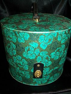 This set of three vintage style hat boxes is made from wood with a faux leather handle. Description from pinterest.com. I searched for this on bing.com/images