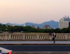 相生橋から北を望む