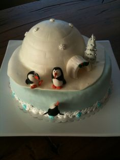 Penguine winter wonderland / Weihnachten bei Pinguins!