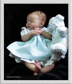TINKERBELL NURSERY Helen Jalland reborn baby doll Laura Lee Eagles Serenity
