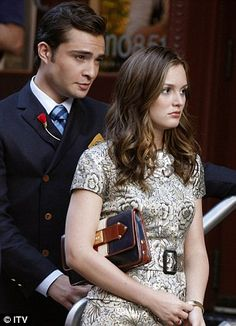 As they were: Serena and Dan, and Blair and Chuck have had on-off romances throughout the six seasons of Gossip Girl