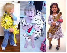 Kids crafts: plushie from kids drawing