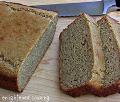 Banana Quinoa bread. - Make sure to  roast flour first. Also use aluminum free baking power.
