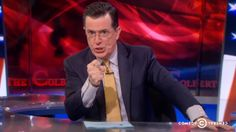 """""""It is so terrifying,"""" Stephen Colbert says, """"that it left a carbon footprint … in my pants."""""""