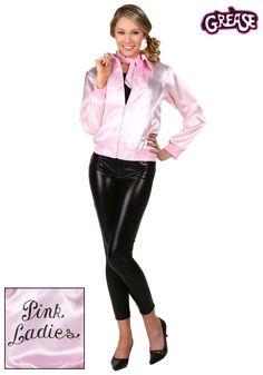 Adult Grease Pink Ladies Jacket  http://coolhalloweenideas.com
