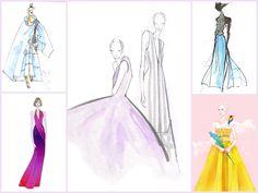 MS. FABULOUS: #NYFW Spring 2016 Designer Inspiration fashion illustrations fashion sketches