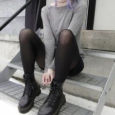 Grunge Fashion : Photo