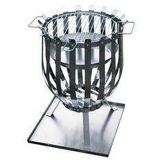 Grillstar Grill-Feuerkorb  (Edelstahl, Durchmesser: 35 cm)