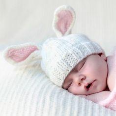 Bailey Pink Bunny Hat