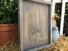 Give Thanks by ChooseHappyLiveHappy on Etsy