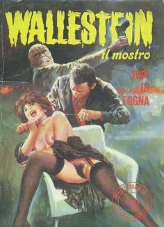 Cover for Wallestein (Edifumetto, 1972 series) #58