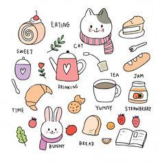 Japanese Pen, Powerpoint Background Design, Kawaii Doodles, Amazing Drawings, Cricut Tutorials, Pen Art, Vector Free, Vector Vector, Cute Illustration