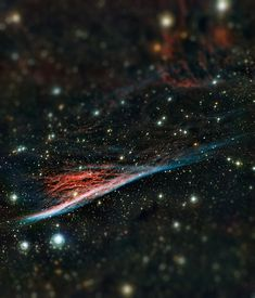 Nebulosa Lápiz  [Imagen vía: http://www.eso.org/public/images/eso1236a/ ]