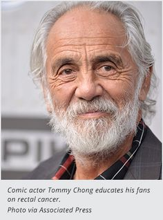 Tommy Chong Diagnosed With Rectal Cancer.