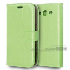 PU Leather Flip Holster Card Holder Photo Frame Stand Case Shell Cover For Samsung Galaxy Grand Duos I9082 / Grand Neo I9060