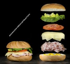 Sandwich Deconstruction | Flickr - Photo Sharing!