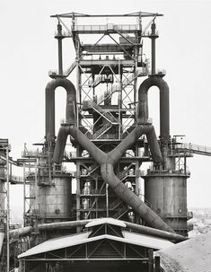 BLAST FURNACE: COLOGNE | NORTH RHINE-WESTPHALIA | GERMANY: *Photo: Bernd & Hilla Becher*