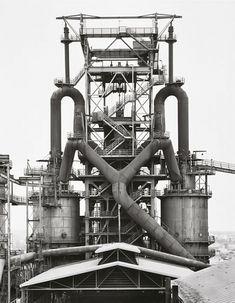 Bernd & Hilla Becher, Blast furnaces, Die Photographische Sammlung, Cologne, Germany