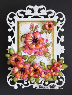 Designs by Marisa: Heartfelt Creations Wednesday - Arianna Blooms Card