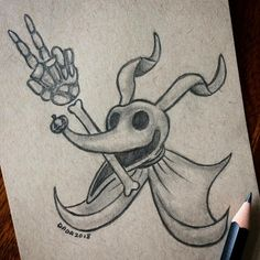 Ideas dogs drawing sketches illustrations for 2019 Creepy Drawings, Cool Art Drawings, Art Drawings Sketches, Disney Drawings, Easy Drawings, Tim Burton Kunst, Tim Burton Art, Nightmare Before Christmas Drawings, Tattoo Nightmares