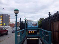 Brooklyn...........36th Street Subway Station.