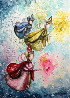 Tricia Kibler - Sleeping Beauty - Fairies x
