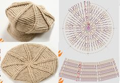 Patron Crochet Gorra - Patrones Crochet