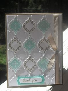 Mosaic Brown Sugar and Cabana by NavyWyf - Cards and Paper Crafts at Splitcoaststampers