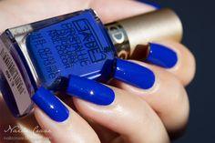 GA-DE Crystallic - Melody Blue 38 Nails Inspiration, Swatch, Nail Polish, Nail Art, Cosmetics, Beauty, Cobalt Blue, Bright, Beautiful
