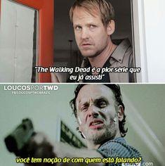 Walking Dead Funny, Walking Dead Memes, Walking Dead Cast, Fear The Walking Dead, Rick Grimes, The Walkind Dead, Twd Memes, Hisoka, Melanie Martinez