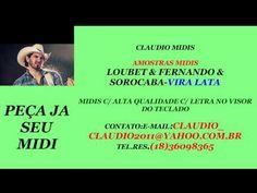 MIDI E PLAYBACK-LOUBET & FERNANDO & SOROCABA