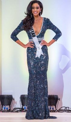 Miss Nevada USA 2015 Evening Gown: HIT or MISS? http://thepageantplanet.com/miss-nevada-usa-2015-evening-gown/