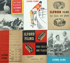 Faces and Places - Ilford Films print wallets from the 50s and 60s by Ian-S, via Flickr