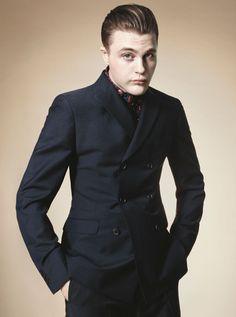 Michael Pitt for Prada Menswear Spring/Summer 2012 Campaign by David Sims.