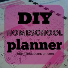 diy homeschool planner free printable worksheets