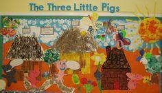 Three Little Pigs classroom display photo - Photo gallery - SparkleBox