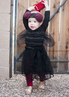 Garbage Truck and Fly Costume - SnapHappyMom.com