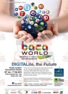 30 January 2015 - 1 February 2015: Baca World Malaysia 1st Digital Content Exhibition