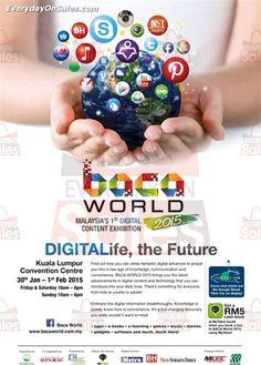 30 January 2015 - 1 February 2015: Baca World Malaysia 1st Digital Content Exhibition